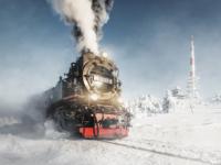 Dampflok Lokomotive harz