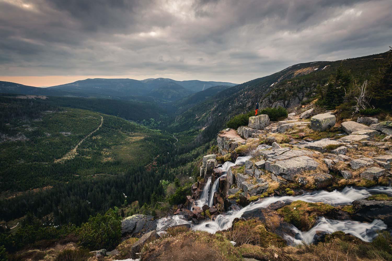 Riesengebirge entdecken: Rundwanderung zum Pantschefall und der Elbquelle