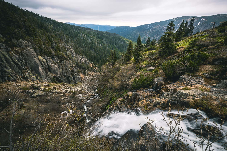 Elbfall im Riesengebirge